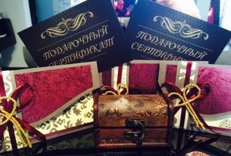 Подарочные сертификаты для мужчин