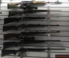 Большой выбор оружия